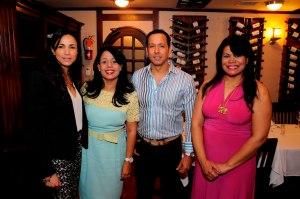 1.-Diana Ramos, Josefina Tomas, Leonardo de Leon y Ruth Bautista