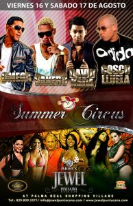 SUMMER CIRCUS 2013 16 Y 17 DE AGOSTO