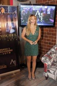 01.- Luz García hace el anuncio de que su empresa A1 Productions trae e Luís Miguel a Chavón