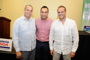 Felipe Polanco Boruga, Dister Arias y Carlos Alfredo Fatule