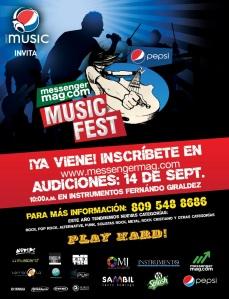 Nueva Promocion del MUSIC FEST 13