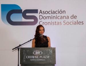 Wanda Sanchez en su discurso