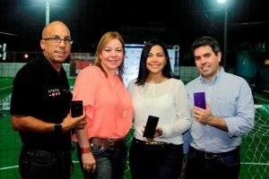 1.- Principal.- Eligio Rodríguez, Tammy Reynoso, Isleyda Peña y Fernando Mendoza
