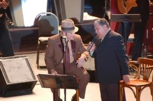 Pavel Nunez y Danny Rivera compartiendo escenario en el 2007