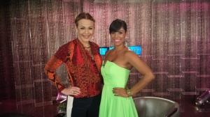 Luz Garcia y Lisbeth Santos
