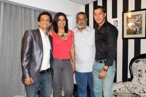 Tony Pascual Pachuli, Yenny Lovera, Leo Silverio y Joel Anico 02