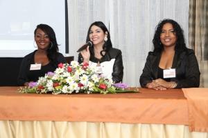 Cristal Rodriguez, Rosanna Valera y Jade Mejía