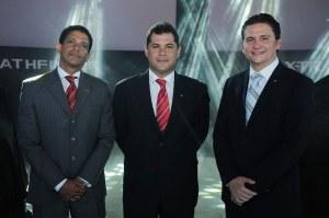 01.Principal. Vladimir De León, Ánibal Rodríguez y Juan Carlos Pérez