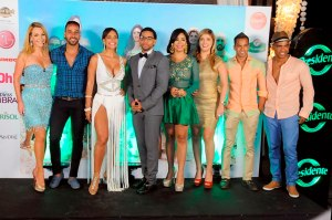 Luz García junto a los siete cuerpos hot del verano
