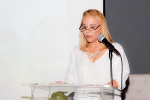 Alina Abreu. Directora del Conservatorio de Danzas Alina Abreu