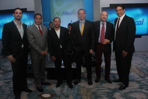 Eduardo Salzberger, Marcos Reyes Mora, George Burguillos, Ivan Garcia, German Alvarez y Cesar Reyes Mora