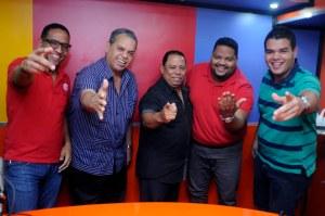 Hansel Garcia, Felipe Polanco, Victor Reyes, Oscar Carrasquillo y Gabriel Polanco (PRINCIPAL)