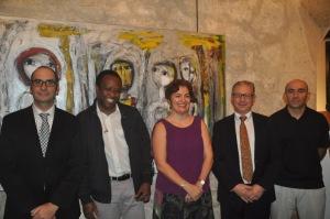 (Foto Principal) Marc Cabale, Souleymane, Antonia Sandez, Alain Mougel, Yazid Kemel