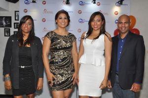 10 aniversario fyp principal, Dayanna Minier, Yenny Lovera, Amelia Reyes y Kosaky Subervi