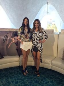Nathalia Jimenez y Luz García