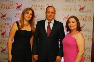 Enid González, Edgar Pérez y Melliangee Pérez