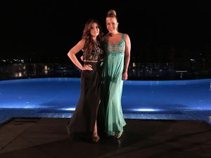 Cristal Marie y Luz Garcia