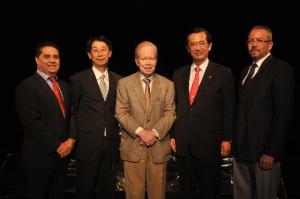 Valentin Baez, Tomas Chen Hon Chi, Jose Luis Corripio, Tomas Ping-Fi Hou y Miguel Febles PRINCIPAL 4