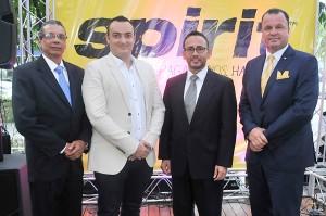 01.- Principal.- Wilfredo Bello, Sebastian Garcia, Rafael Patiño y Gustavo de Hostos