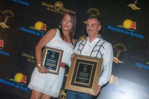 Roxanna Román y Carlos Jimènez Ruiz
