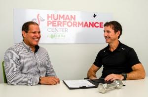 Dr. Ventura GARCIA CHALJUB y el ingeniero Anthony Bernal