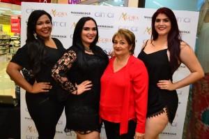 Isabel Villar,Pamela Guzman, Lisbeth Sanchez y Rose Valdez. FOTO PRINCIPAL