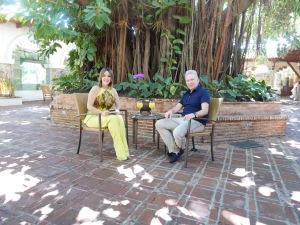 Luz García y Jean Paul Gaultier