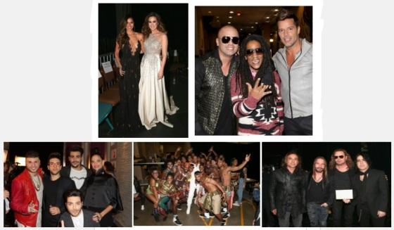 Behind Scenes Latin Grammy 15