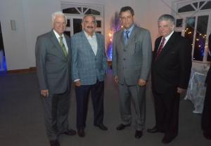 Refidomsa.  Principal. Foto 1- Mario Cáceres , Arturo Santana, Félix Jiménez  y Abraham Selman.